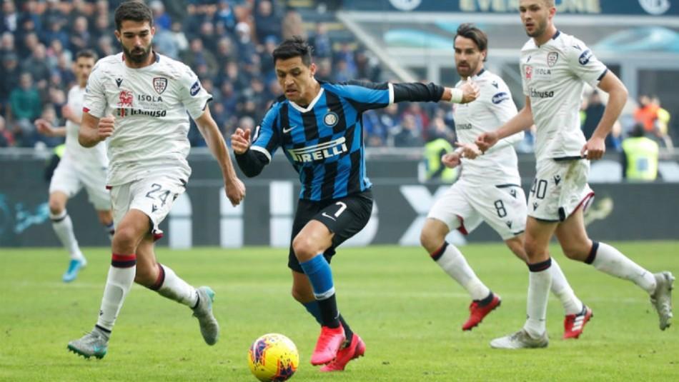 Copa Italia: Alexis Sánchez y Erick Pulgar titulares en duelo Inter vs. Fiorentina