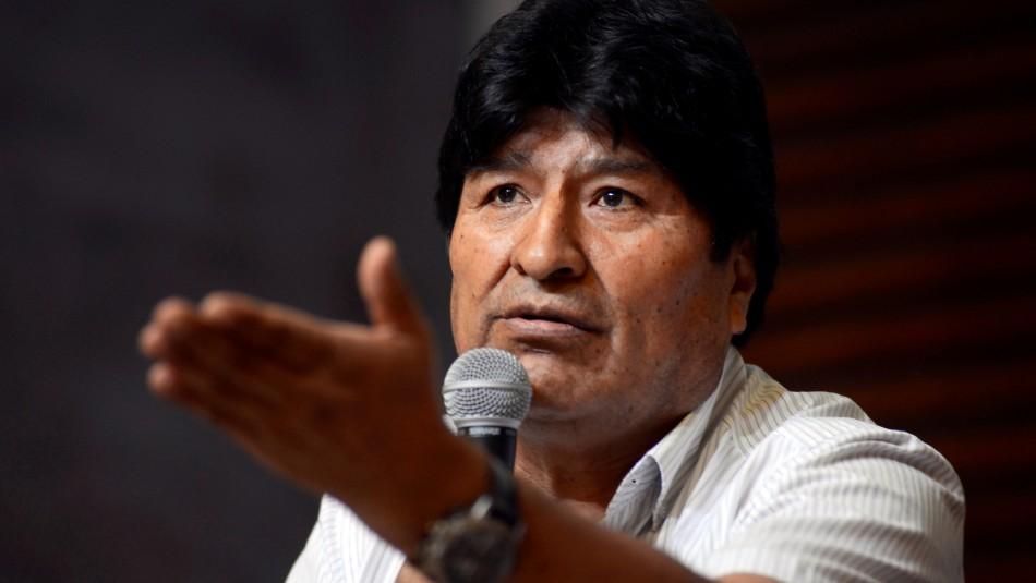Evo Morales entregó poder a su abogado para que lo registre como candidato al Congreso
