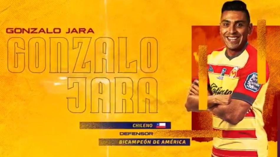 Gonzalo Jara ficha en Morelia.