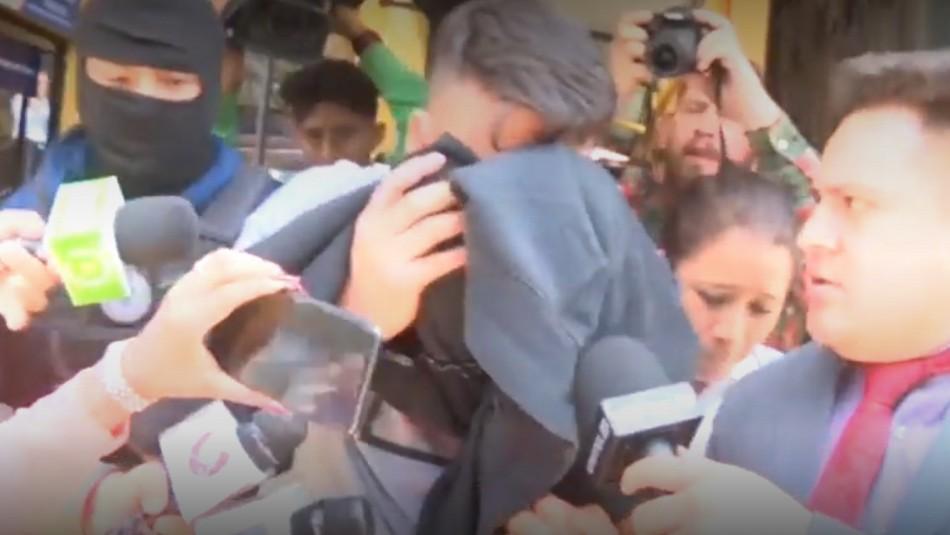 Así fue la detención de Luis Núñez.