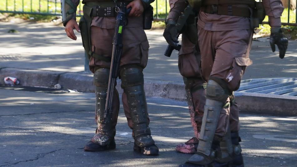 Corte de Valparaíso autoriza uso de perdigones de Carabineros evitándolos en manifestaciones pacíficas