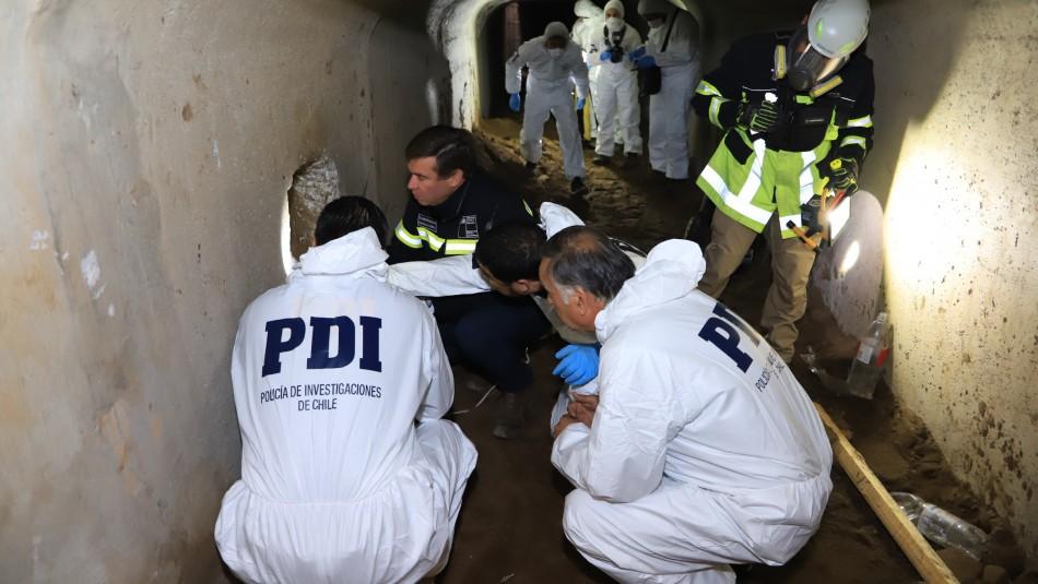 Tenían iluminación y ventilación: El sofisticado sistema para cavar túnel e ingresar a banco en Concón