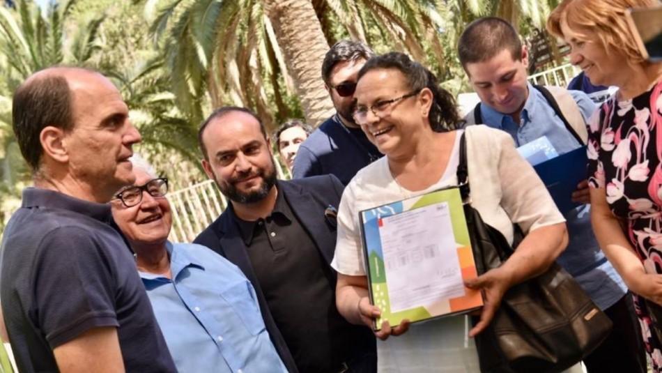 Ministro de Vivienda hizo entrega de 3.800 subsidios habitacionales a familias de clase media