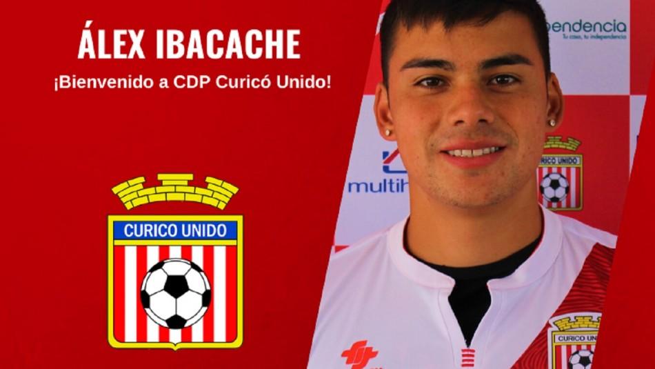 Alex Ibacache se une a Curicó Unido.