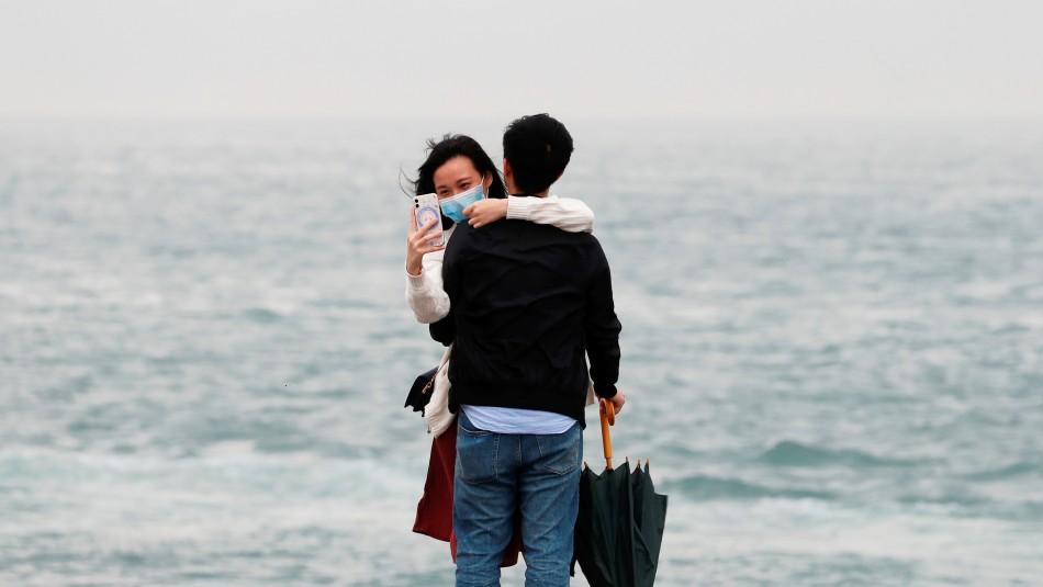 El amor en tiempos del coronavirus: Así se vive un triste San Valentín en China