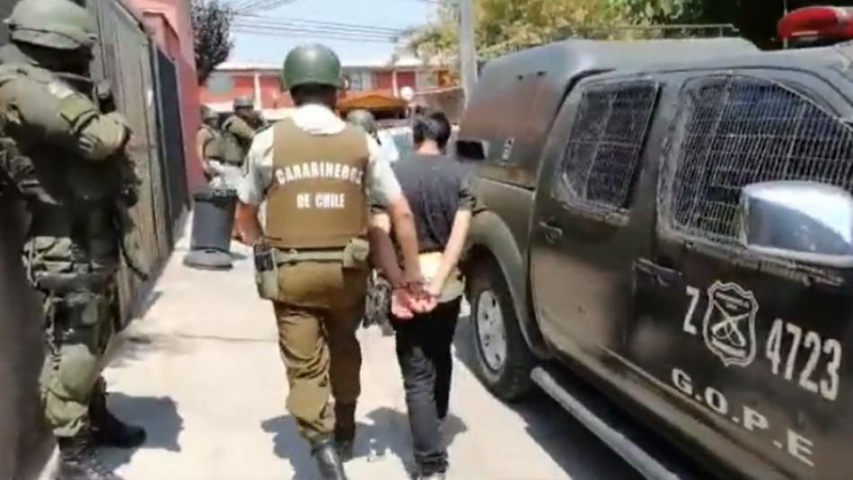 13 detenidos dejan intervenciones en sectores cercanos a cuarteles policiales atacados