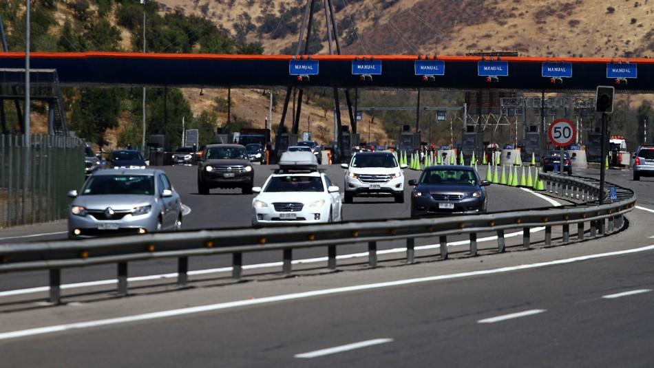 Recambio de veraneantes: Se espera que 350 mil vehículos salgan desde la capital este fin de semana