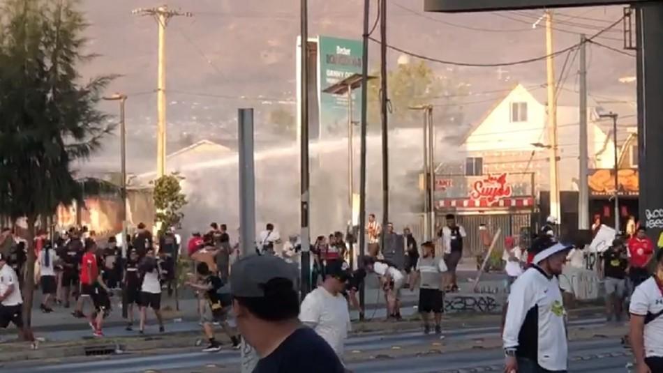 Partido Colo Colo vs. UC: Serios incidentes se registraron en las afueras del Monumental