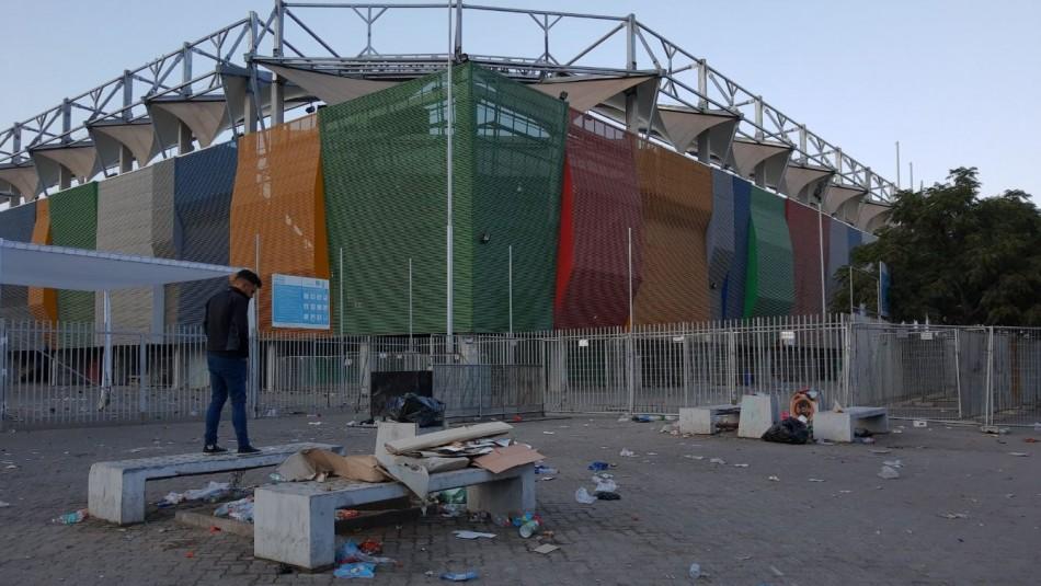 Productora de concierto de La Polla Records descarta responsabilidad por destrozos fuera del estadio