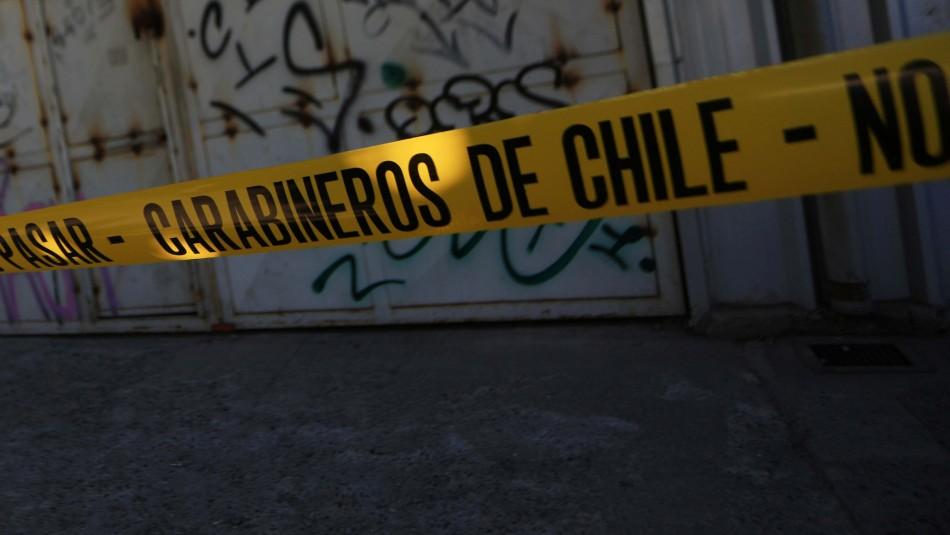 Femicidio en Maipú: Hombre mata a su pareja y luego intenta quitarse la vida