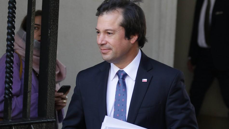 Presunta corrupción en MOP: Gobierno reitera respaldo a Palacios tras adelantar declaración como testigo