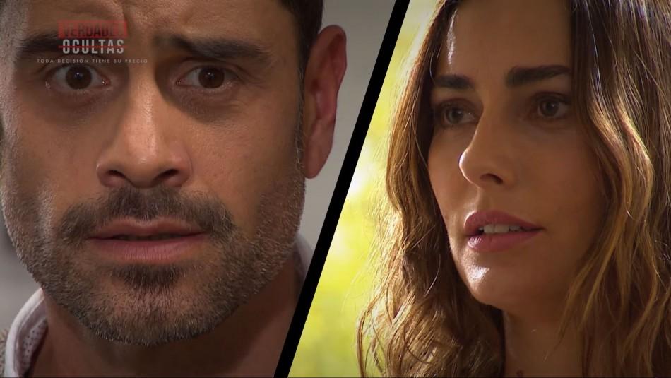 Reencuentro entre Samanta y Ricardo marcó nuevo capítulo de Verdades Ocultas