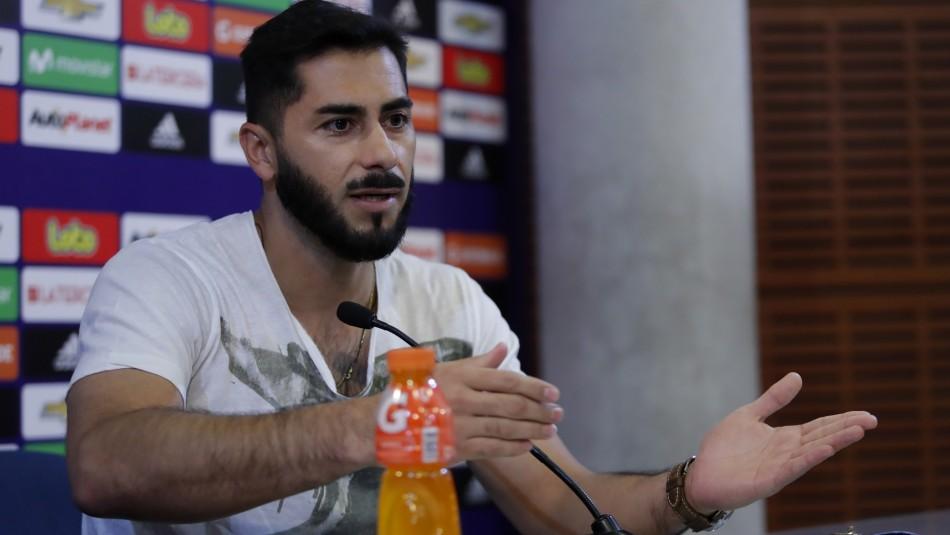 Johnny Herrera por denuncia de choque en Reñaca: