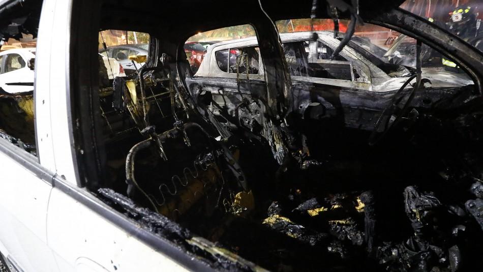 Los destrozos dejados en Hotel O'Higgins y automotoras tras incidentes en Viña del Mar