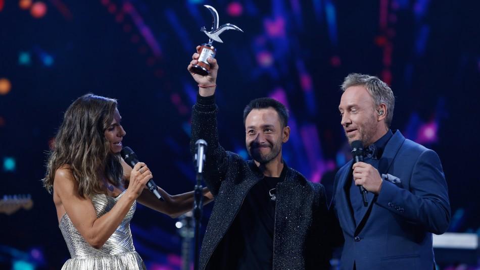 Luciano Pereyra emocionado tras su éxito en Viña: