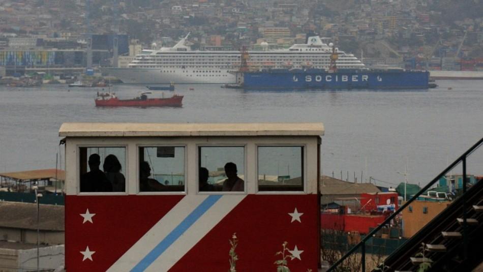 Valparaíso parcialmente cubierto: Revisa el pronóstico del tiempo