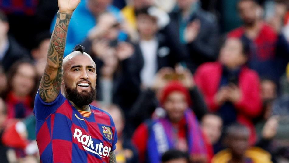 Arturo Vidal jugará como titular en el clásico Real Madrid vs. Barcelona