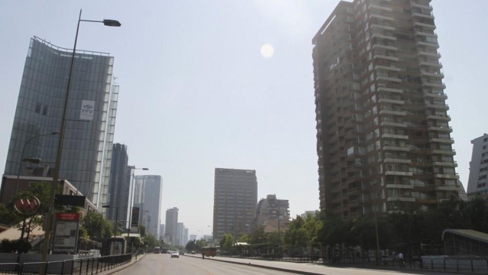 Santiago con un sol radiante: Revisa el pronóstico del tiempo
