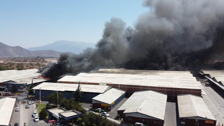 Director de Onemi por incendio en Pudahuel: