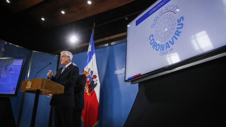 Presidente Piñera presenta