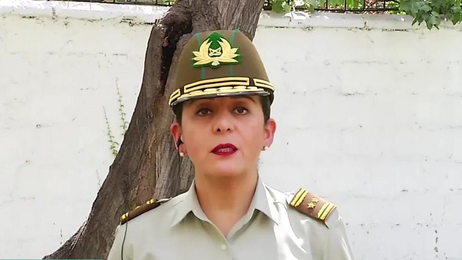 Generala Berta Robles y marcha 8M: