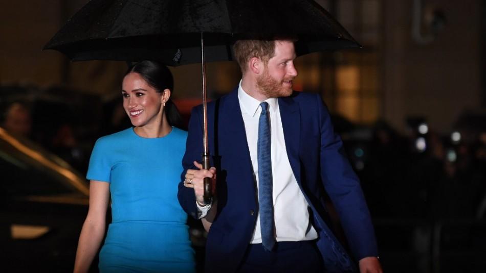 Príncipe Harry y Meghan Markle aparecen juntos por primera vez tras su salida de la familia real