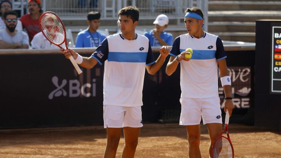 Chile sale a la cancha en Copa Davis: Hora y dónde ver el desafío ante Suecia