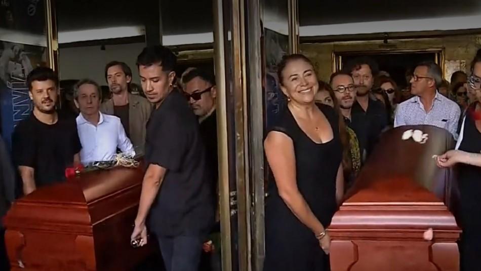 Bélgica Castro y Alejandro Sieveking tuvieron un masivo adiós en el Teatro Nacional