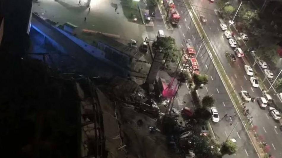 Se derrumba hotel en China para personas en cuarentena por coronavirus: 70 atrapados bajo los escombros