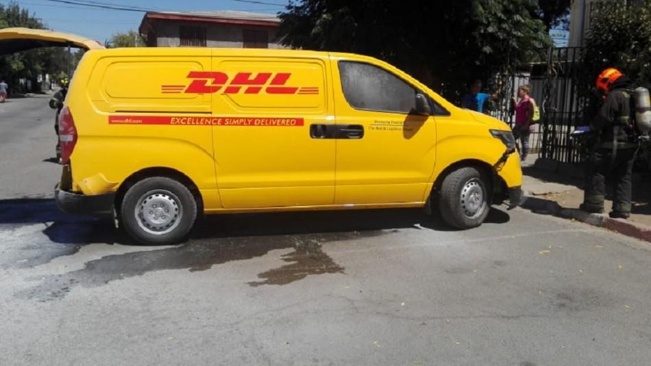 Camioneta utilizada en millonario robo en aeropuerto de Santiago fue encontrada en Cerro Navia