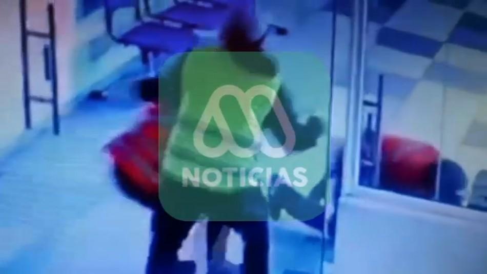 Nuevos videos muestran el accionar de banda que  realizó millonario robo en Aeropuerto de Santiago