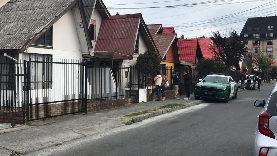 PDI investiga muerte de un niño de 2 años en Concepción: Se habría ahogado con una bolsa