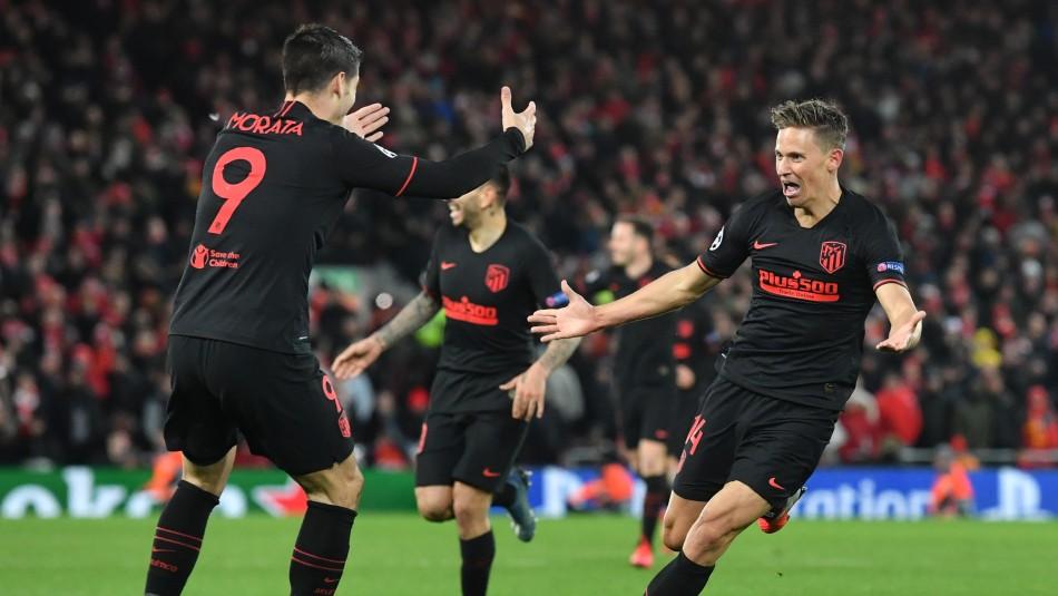 Adiós al bicampeonato: Liverpool pierde ante el Atlético y se despide de la Champions League