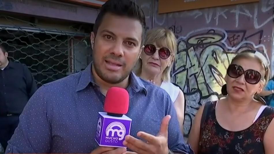 Periodista de Mucho Gusto sufrió agresión sexual en vivo: