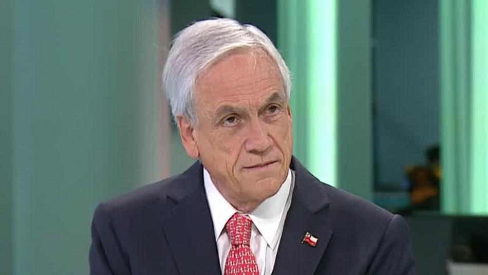 Sebastián Piñera en Meganoticias Prime: