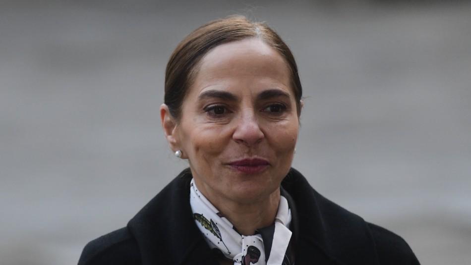 Isabel Plá tras renunciar al Ministerio de la Mujer: