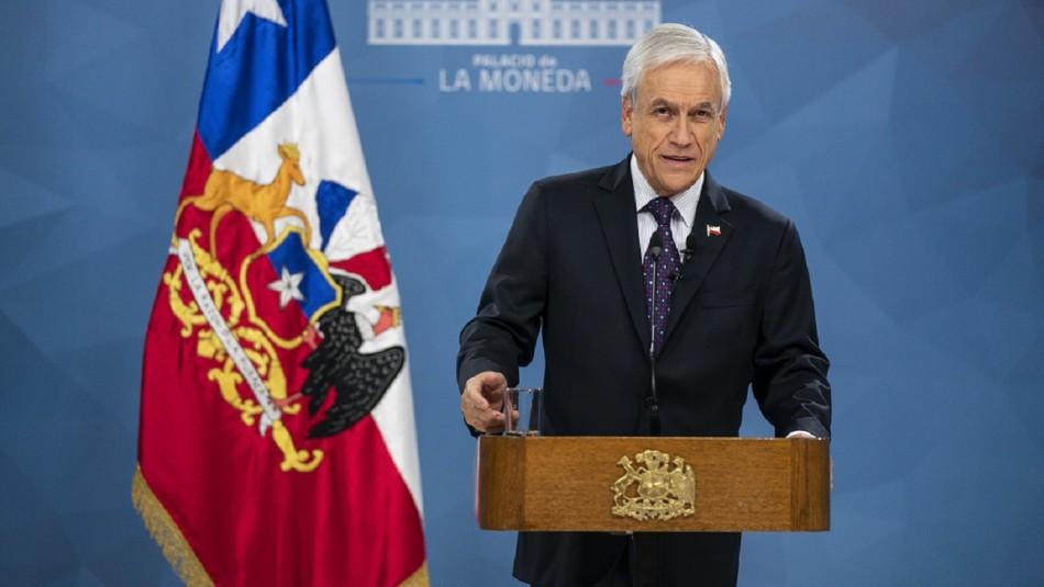Piñera anuncia medidas por coronavirus: