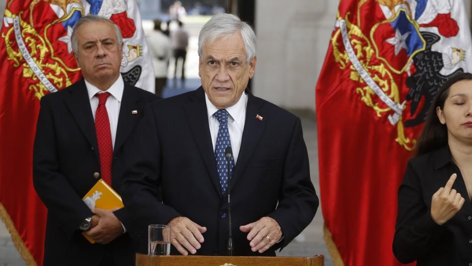 Piñera anuncia cierre de todas las fronteras tras confirmar paso a fase 4 de coronavirus