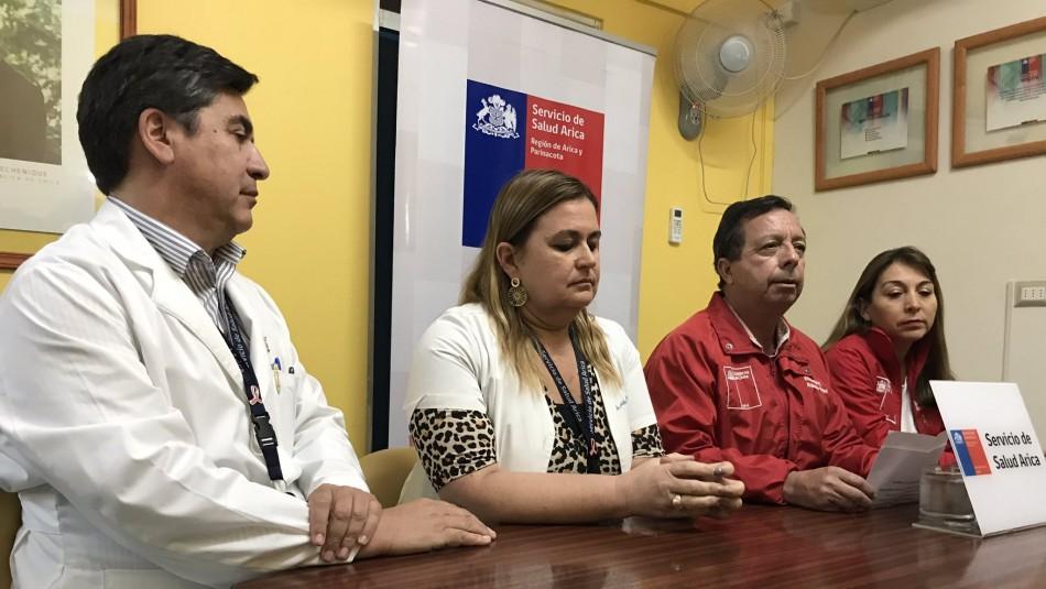 Confirman primer caso de coronavirus en la región de Arica y Parinacota