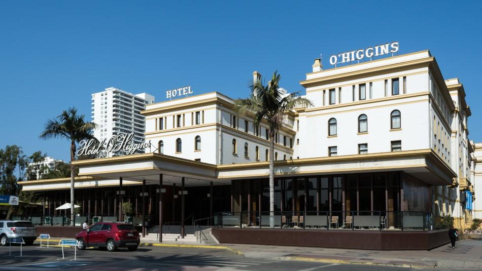 Hotel O'Higgins es puesto a disposición del Minsal para atender pacientes con coronavirus
