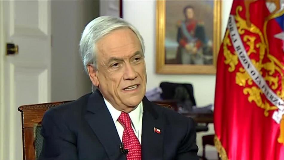 Presidente Piñera por coronavirus en Chile: