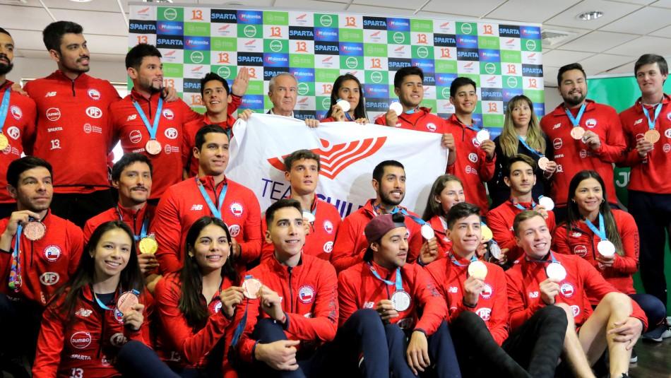 La lista de deportistas olímpicos que cumplen cuarentena obligatoria y preventiva en Chile