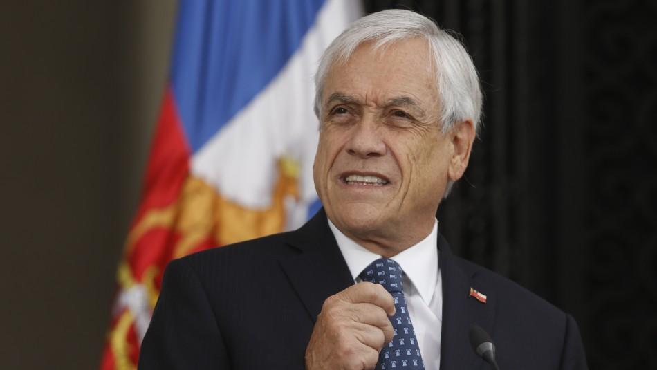 Piñera anuncia plan de fortalecimiento económico de emergencia por US$ 11.700 millones