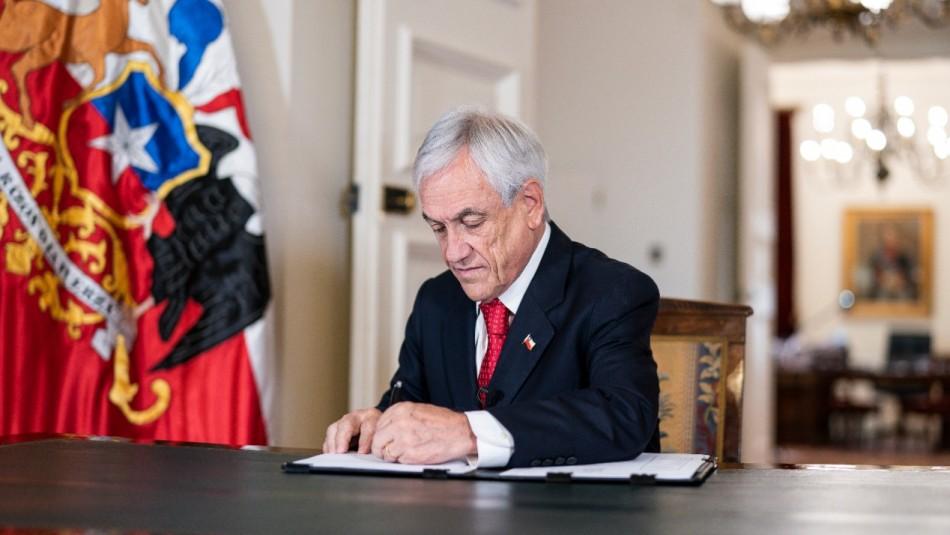 Presidente Sebastián Piñera promulga reforma de paridad de género