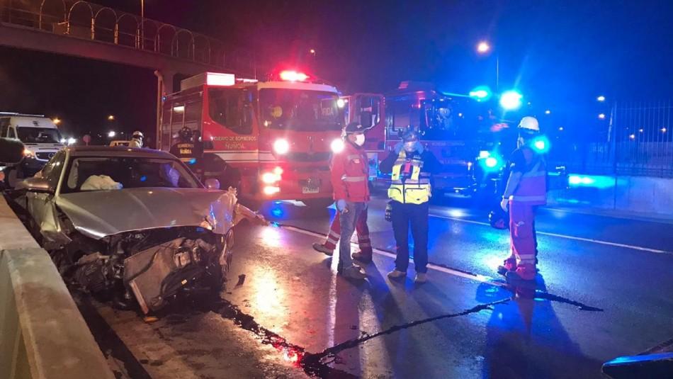 Operativo sanitario tras choque en La Florida: Conductor debía estar en cuarentena