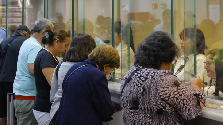 Pago de pensiones: Caja Los Héroes tendrá atención exclusiva para mayores de 75 años durante fin de semana