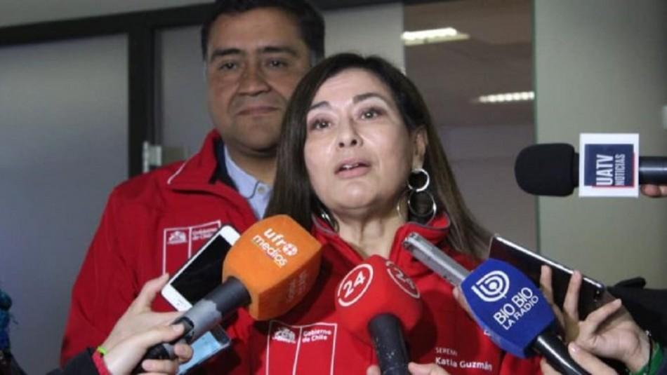 Seremi de Salud de La Araucanía dio positivo por coronavirus junto a otras altas autoridades de la región