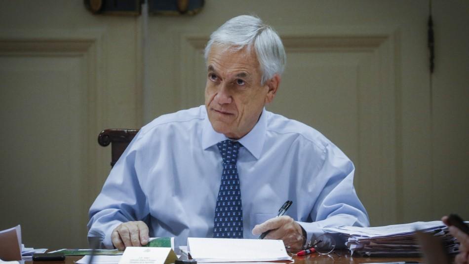Cadem: Aprobación de Piñera y su gabinete suben a 18% en medio de emergencia por coronavirus