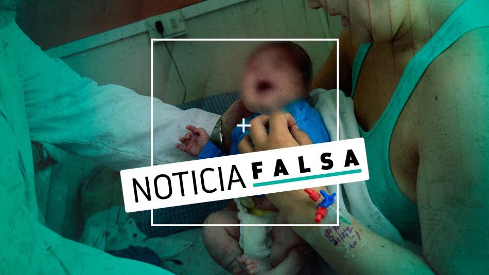 El falso viral sobre un niño llamado