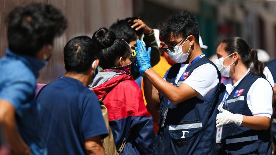 Los tres principales síntomas que mostraron los diagnosticados de coronavirus en Chile